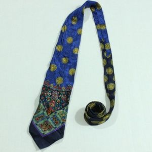 Gianni Versace Couture Silk Multicolor Sun Necktie